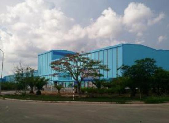 Cập nhật một số hình ảnh của nhà máy mới tại KCN Nhơn Trạch 2 - Nhơn Phú - Đồng Nai