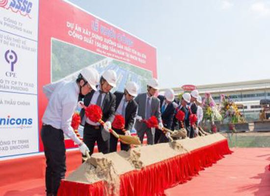 "SSSC'S COMMENCEMENT OF THE PROJECT ""CONSTRUCTION OF CGL WITH CAPACITY 150,000 TPY AT NHON TRACH"""