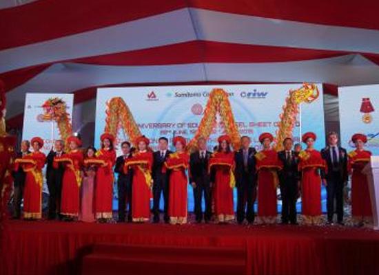 Tôn Phương Nam khánh thành nhà máy trị giá gần 1.500 tỷ đồng