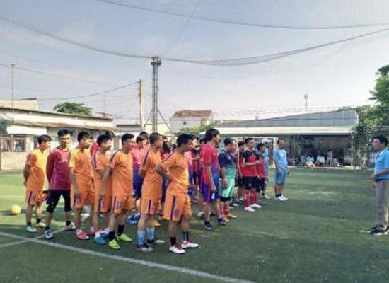 Công ty Tôn Phương Nam tham dự giải bóng đá mini Tứ hùng 2018 do Thanh tra Sở Lao Động - Thương Binh và Xã Hội tỉnh Đồng Nai tổ chức