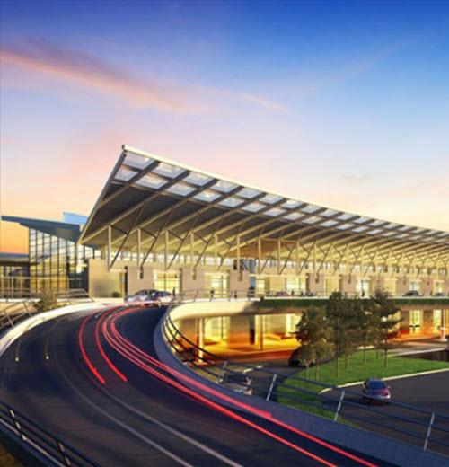Nhà ga hành khách - sân bay quốc tế Vân Đồn